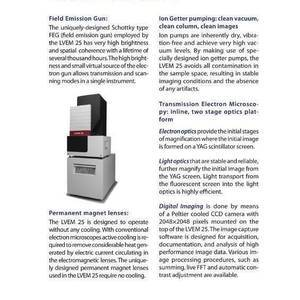 Resolution Technology - Microscopes - Electron microscopes
