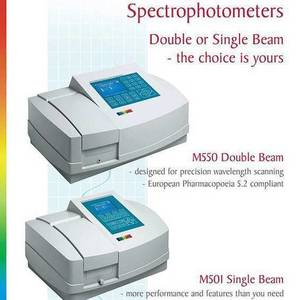 Resolution Technology - Vis, Uv & X-Ray Spectrometers - Camspec Spectrophotometers