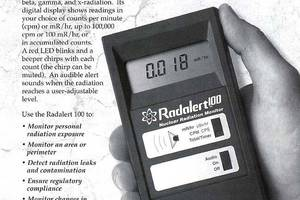 Nuclear Radiation Monitors (Geiger counters)